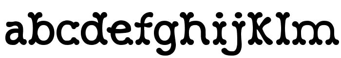 Robinne Truecase Font LOWERCASE