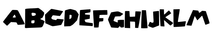 Roblox_Font Font UPPERCASE