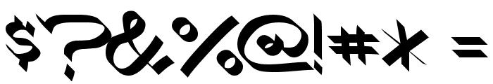 RoboKoz Font OTHER CHARS