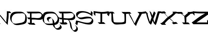 RoboKoz Font UPPERCASE