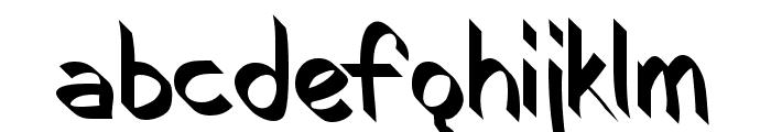 RoboKoz Font LOWERCASE