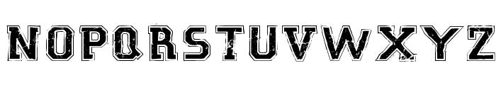 Robot GamesSW Font UPPERCASE