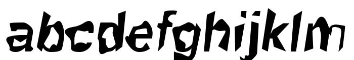 Robot Killer Font LOWERCASE