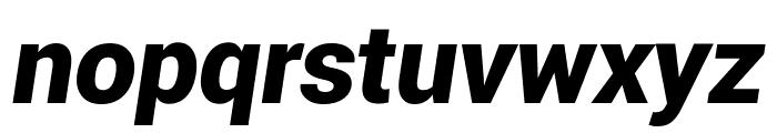 Roboto Black Italic Font LOWERCASE