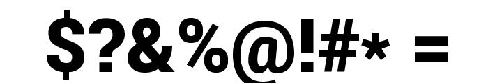 Roboto Black Font OTHER CHARS