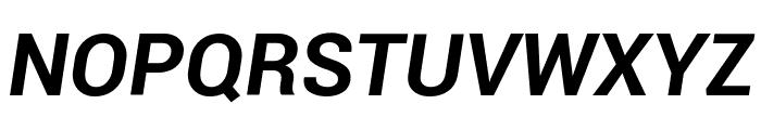 Roboto Bold Italic Font UPPERCASE