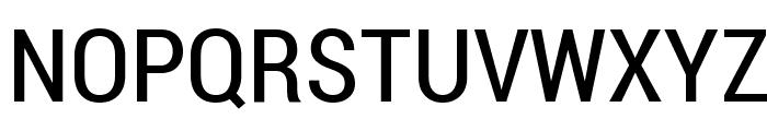 Roboto Condensed Font UPPERCASE