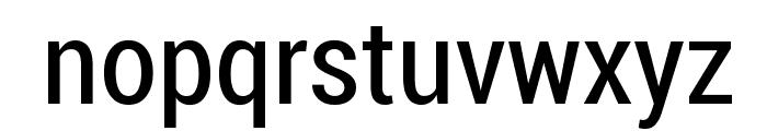 Roboto Condensed Font LOWERCASE