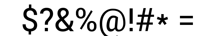 Roboto Regular Font OTHER CHARS