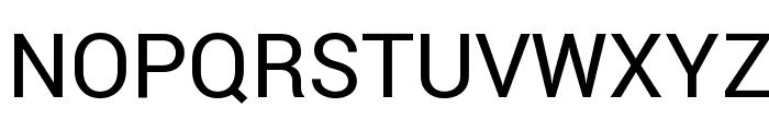 Roboto Regular Font UPPERCASE