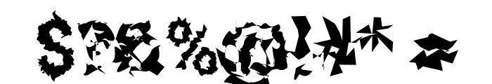 Roboto Remix Font OTHER CHARS