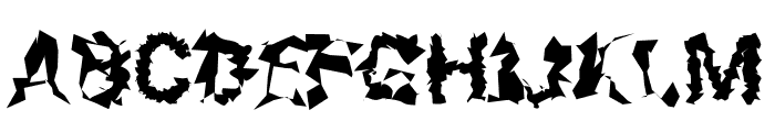 Roboto Remix Font UPPERCASE