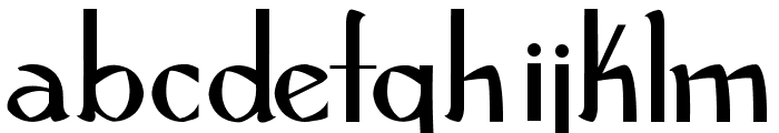 Robust and Husky Bold Font LOWERCASE