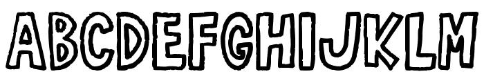 RobustA Font LOWERCASE