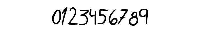 Rocchy__s_handwriting Font OTHER CHARS