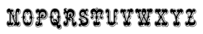 Rochester Line Font LOWERCASE