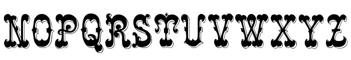 Rochester Font UPPERCASE