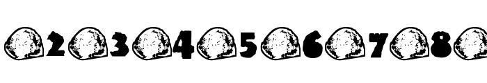 Rock, Paper, Scissors Font OTHER CHARS