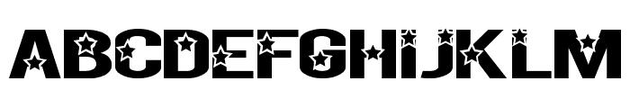 Rock X Start tfb Font UPPERCASE