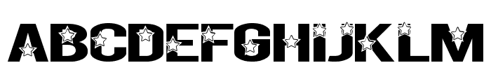Rock X Start tfb Font LOWERCASE