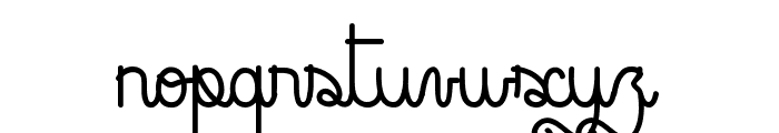 Rock and Roll Street Font LOWERCASE