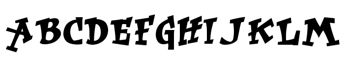 RockArt Font LOWERCASE