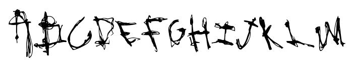 RockBait Font UPPERCASE