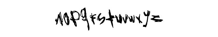 RockBait Font LOWERCASE