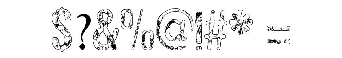 RockBiter Font OTHER CHARS