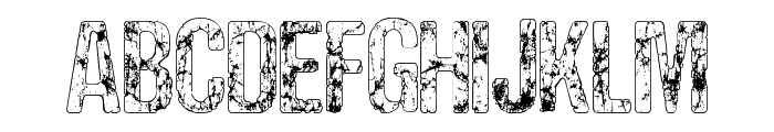 RockBiter Font UPPERCASE