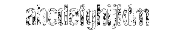 RockBiter Font LOWERCASE