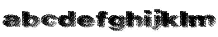 RockHarder Font LOWERCASE