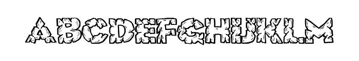 RockSolid Font UPPERCASE