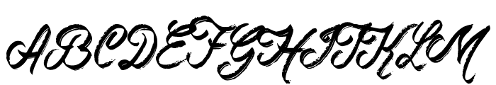 Rockers Font UPPERCASE