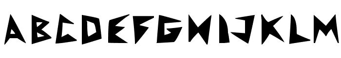 RocketFrog Font Font LOWERCASE