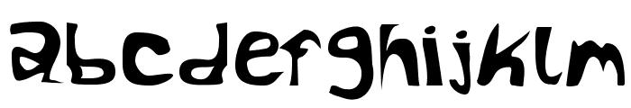 RocketFuel Font LOWERCASE
