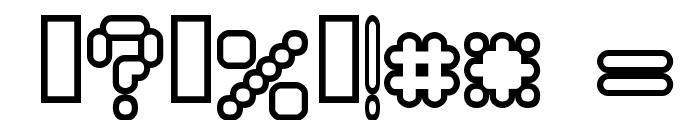 Rocketman Font OTHER CHARS