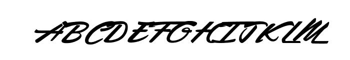 Rocking Season Font UPPERCASE