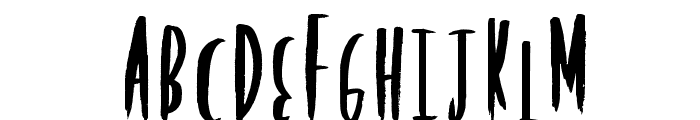RockingPoster Font UPPERCASE