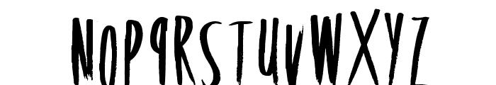 RockingPoster Font LOWERCASE