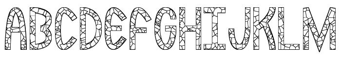 Rockmia St Font UPPERCASE
