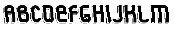 Rock'n Fluid Font UPPERCASE