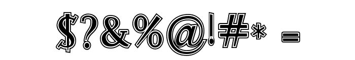 RocknRollTypoCollege Font OTHER CHARS