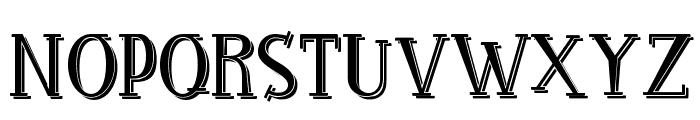 RocknRollTypoShadow Font UPPERCASE