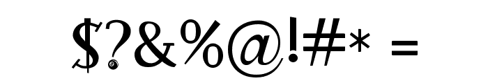 RocknRollTypoSpecial Font OTHER CHARS