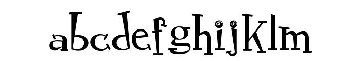 RocknRollTypoSpecial Font LOWERCASE