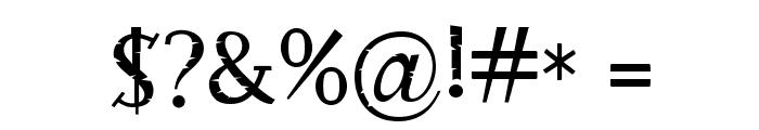 RocknRollTypoStone Font OTHER CHARS