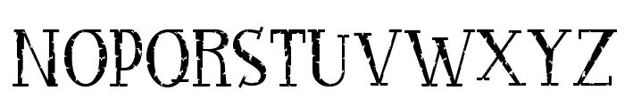 RocknRollTypoStone Font UPPERCASE