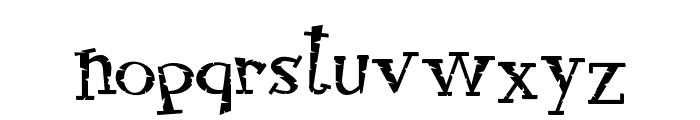 RocknRollTypoStone Font LOWERCASE