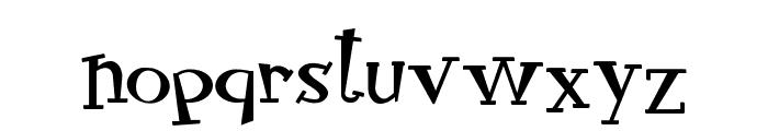 RocknRollTypo Font LOWERCASE